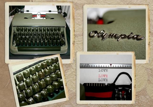 Typewriter Olympia