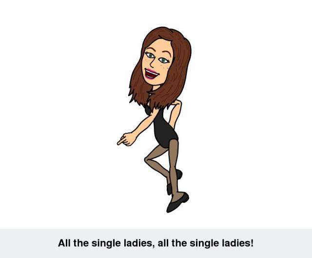 Bitstrip Comic All the single ladies