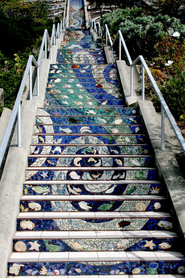 Mosaic Steps San Francisco