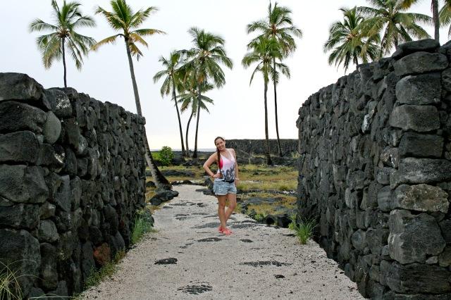 Pu`uhonua O Hōnaunau National Historical Park Hawaii Big Island