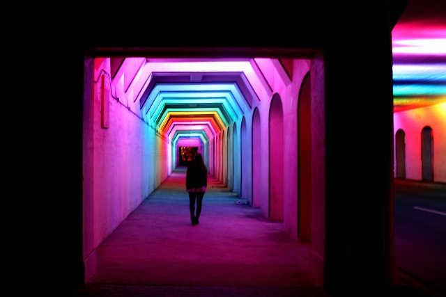 Rainbow Tunnel Birmingham Alabama