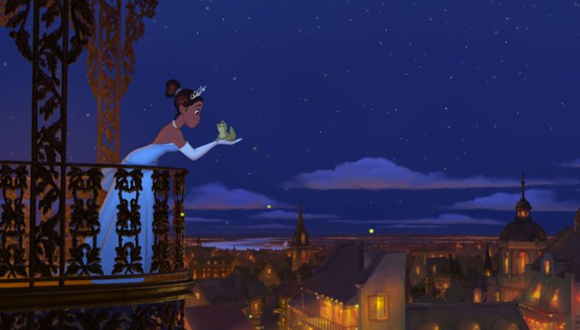 Tiana-About-to-Kiss-Naveen-in-The-Princess-and-the-Frog