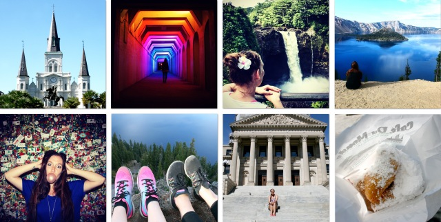 Travelmonth collage