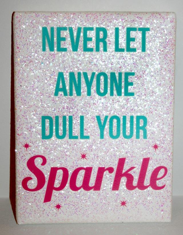 Glitter Quote