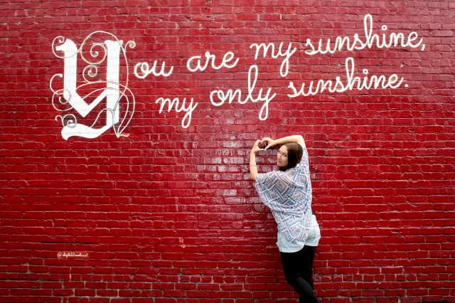 You are my sunshine Wall Berkely