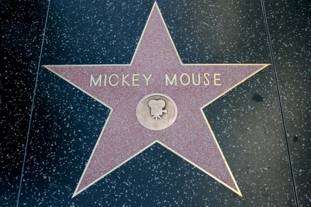 Walk of Fame Mickey Mouse