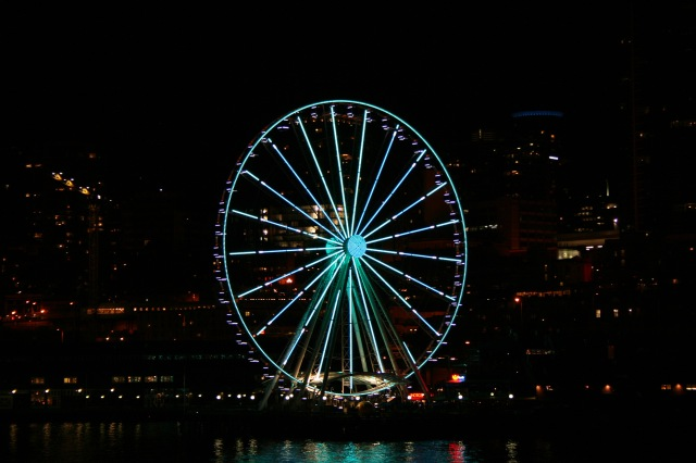 Ferris Wheel Seattle