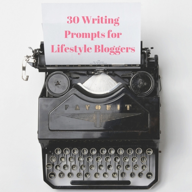 30 Blogger Prompts