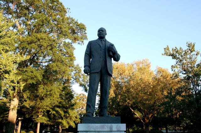Martin Luther Kink Jr. Statue Birmingham