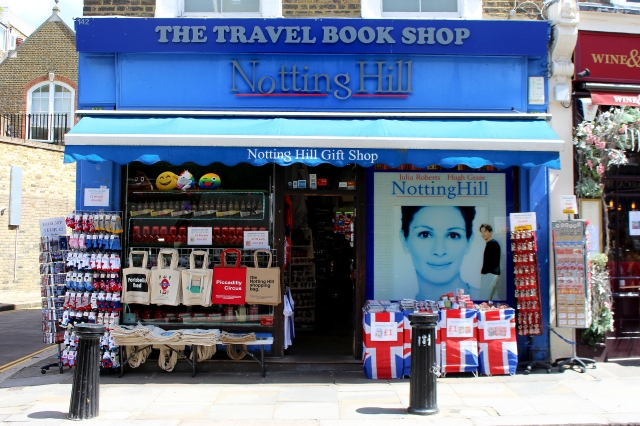 London Notting Hill Travel Book Shop