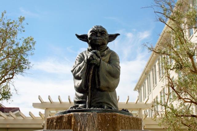 San Francisco Presidio Yoda Fountain